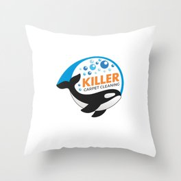 killer  shane Throw Pillow