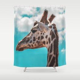 Headshot   Melbourne, Australia Shower Curtain
