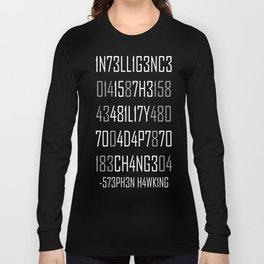 Adapt or Die Encoded Reversed Long Sleeve T-shirt