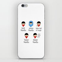 merlin iPhone & iPod Skins featuring Soft Merlin, Warm Merlin... by sirwatson