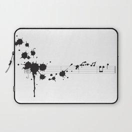 Splatter in D Minor Laptop Sleeve