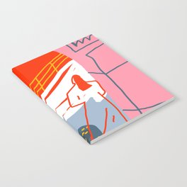 red sky Notebook