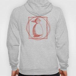 Metaphysical Penguin Vetruvian Penguin Hoody