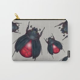 Red Jasper Beetle Carry-All Pouch