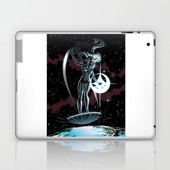 Lady Surfer Laptop & iPad Skin
