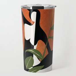 Abstract Female Figure 20 Travel Mug