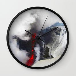 THE LAND OF ICE AND FIRE Wall Clock