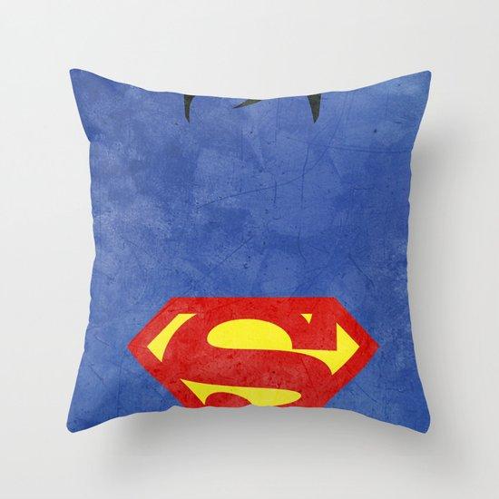 Supes Throw Pillow