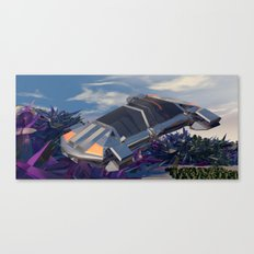 Traversing  the  Ruin Canvas Print