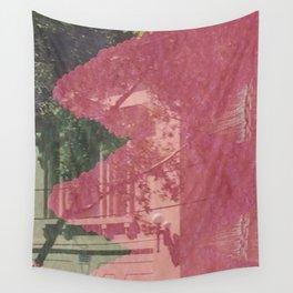 feeling pink on chapel street Wall Tapestry