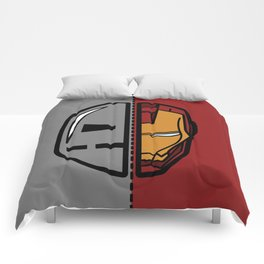 Old & New Iron Man Comforters