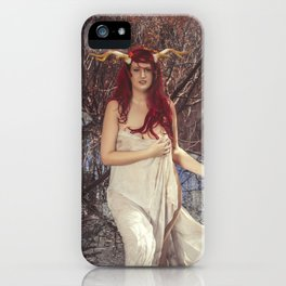 Woodland Fairy 12 iPhone Case