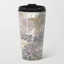 Pink Texture Metal Travel Mug