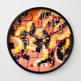 Allir tapa (Everybody loses) Wall Clock
