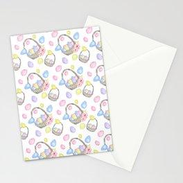 Easter Basket Stationery Cards