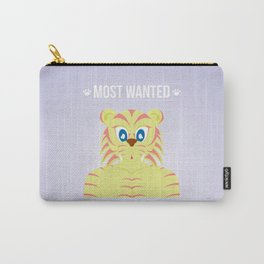Wanted - Tiger Carry-All Pouch