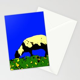Bookends - Two Sheep - Cuckmere Haven, Sussex, UK Stationery Cards