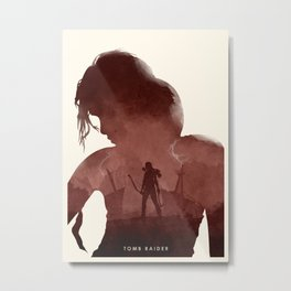 Tomb Raider (II) Metal Print