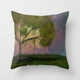 Guardian of Thoughts Throw Pillow