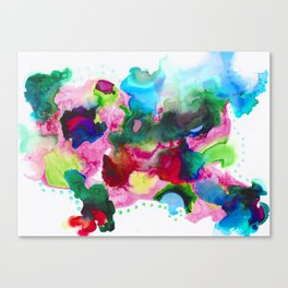 Ink 108 Canvas Print