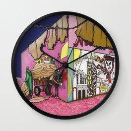 MOROCCAN ROSE Wall Clock