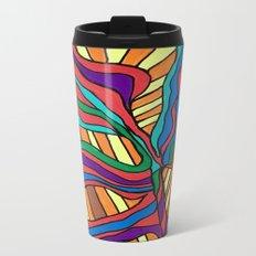 Crazy pattern Metal Travel Mug