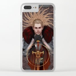 Commander Tarot Clear iPhone Case