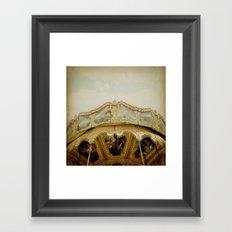 Pirate Squared Framed Art Print