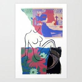 La Maison Mod I Art Print