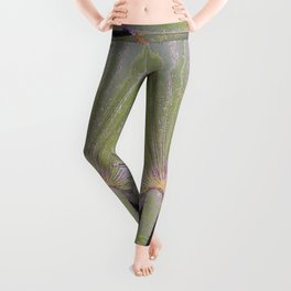 Saw Palmetto Abstract Leggings