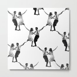 Someone in the Crowd. Metal Print