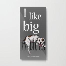 Big Mutts Metal Print