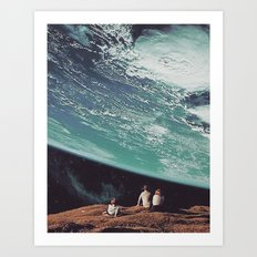 Astronomical Limits Collaboration with Thom Easton Art Print
