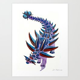 Ankylosaurus Art Print