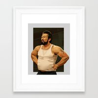 mac Framed Art Prints featuring Mac by Chigg
