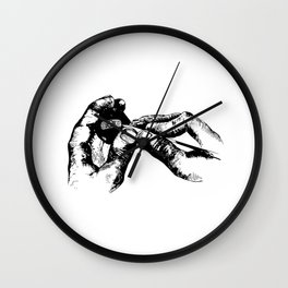 Jeweler Ink Art Wall Clock