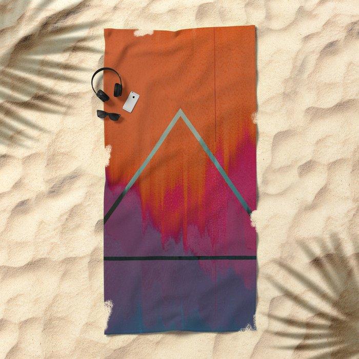 Clear as Day Beach Towel
