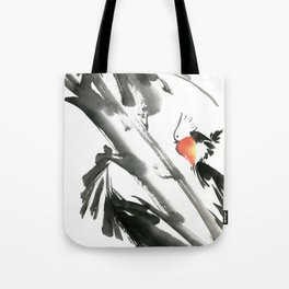 Bird2- Chinese Shui-mo (水墨) Tote Bag