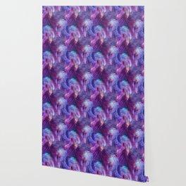 Tamarindo Tropic Purple Wallpaper