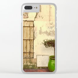 Accidental art Clear iPhone Case