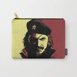 Big Boss (naked snake from metal gear solid) Carry-All Pouch