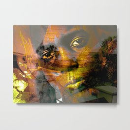 """""""Journey Of The Mind: Remixed"""" Metal Print"""