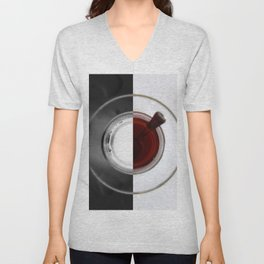 A cup of tea Unisex V-Neck