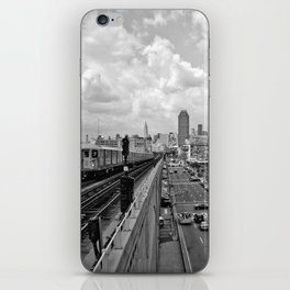 New York From the Seven Train iPhone Skin