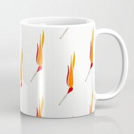 Matchsticks Afire Coffee Mug