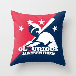 Glourious Basterds Throw Pillow