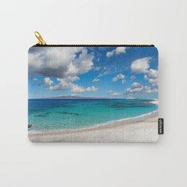 Kastraki beach of Naxos island in Cyclades, Greece Carry-All Pouch