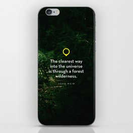 Into The Universe iPhone Skin