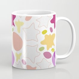 Abstract color spots splatters Coffee Mug