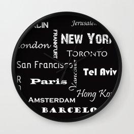 Cites Wall Clock